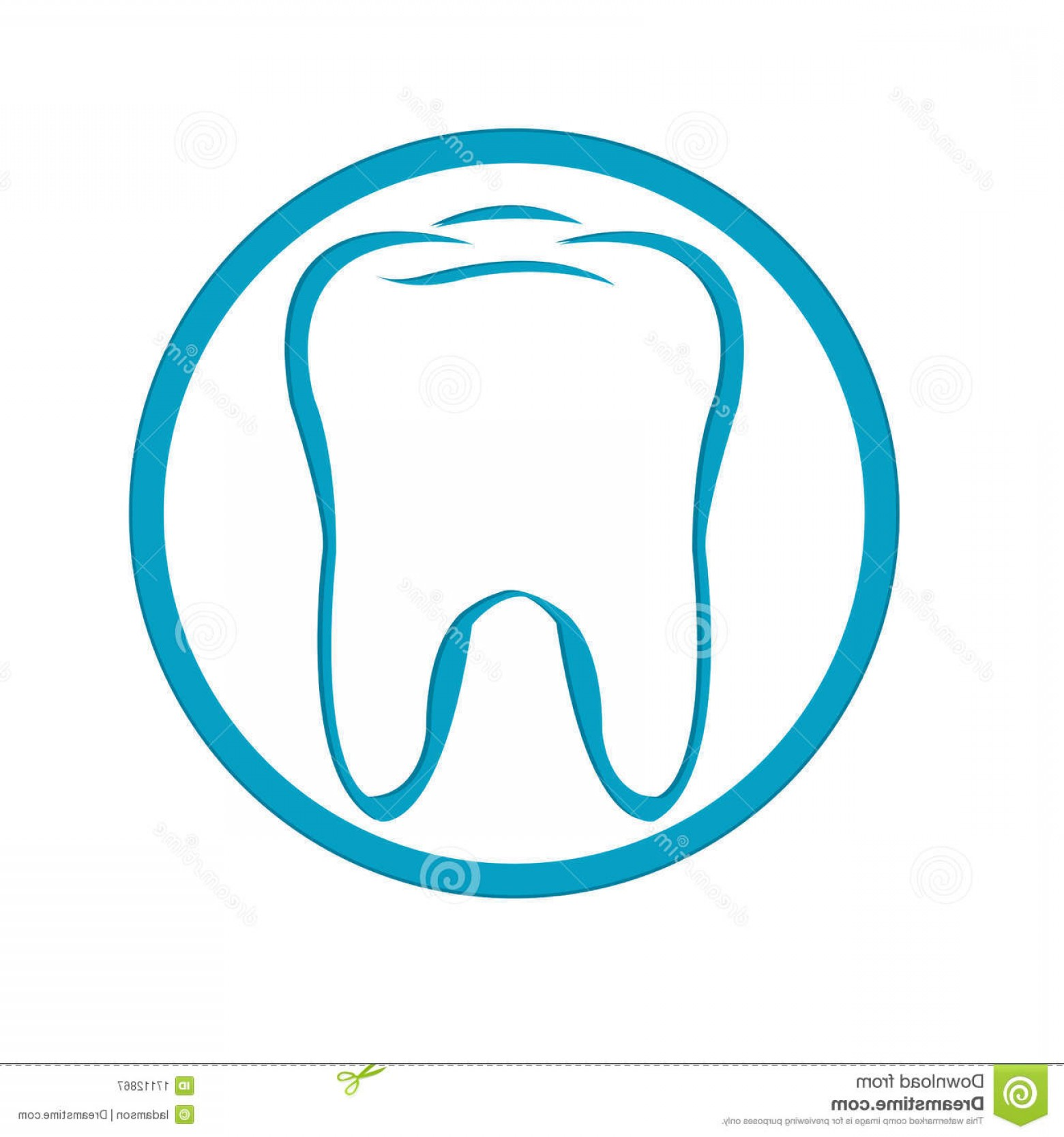 Tooth Vector Logo: Royalty Free Stock Photography Logo Tooth Vector Image