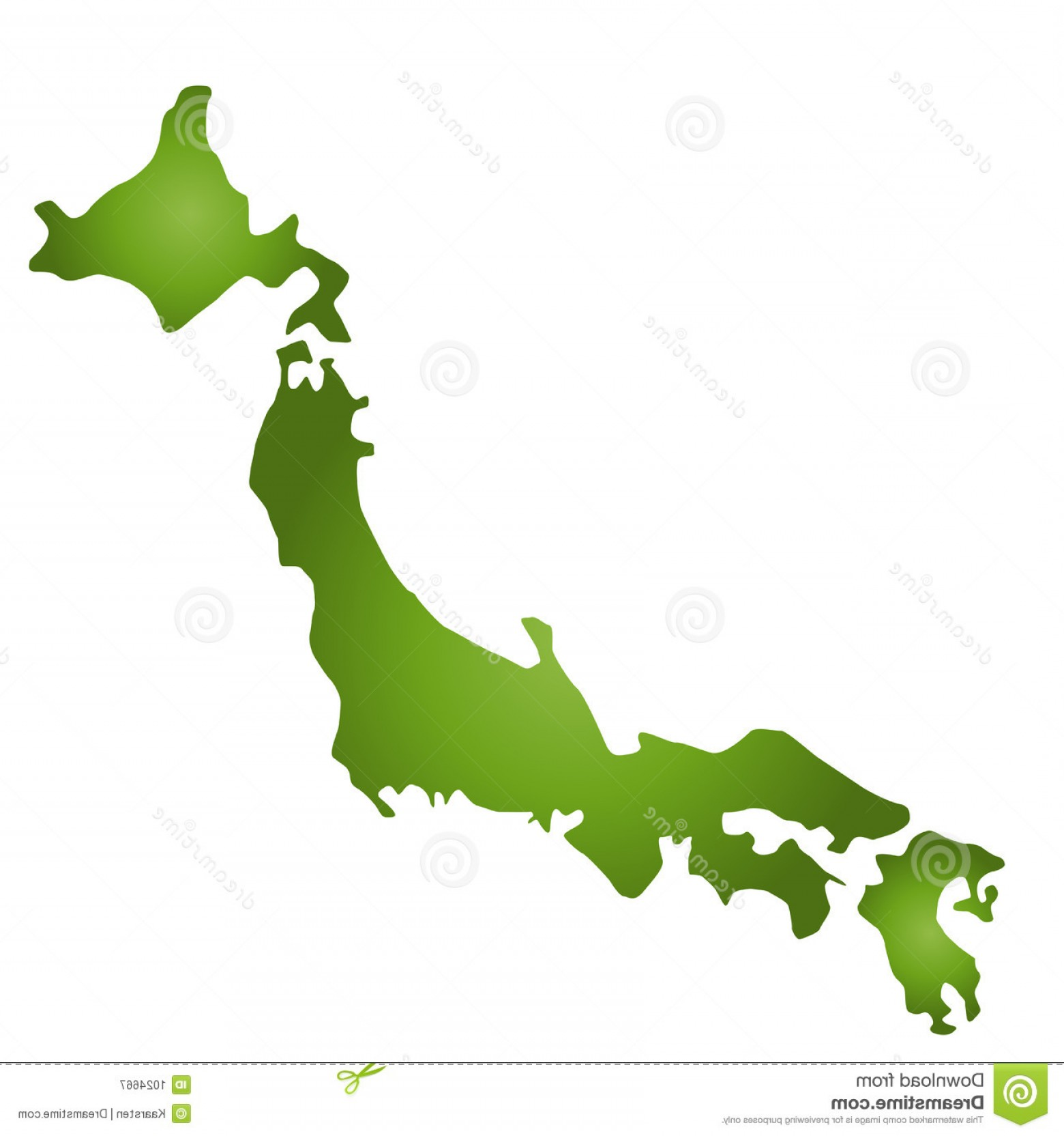 Japan Map Vector: Royalty Free Stock Photography Map Japan Image