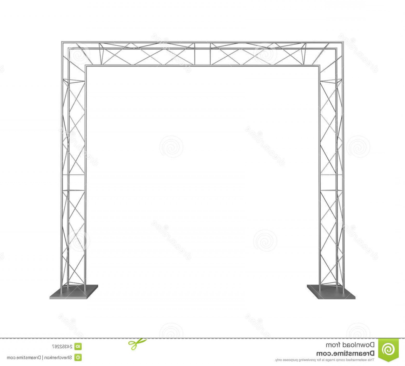 Aluminum Truss Design Vector: Royalty Free Stock Photography Metal Trusses Image