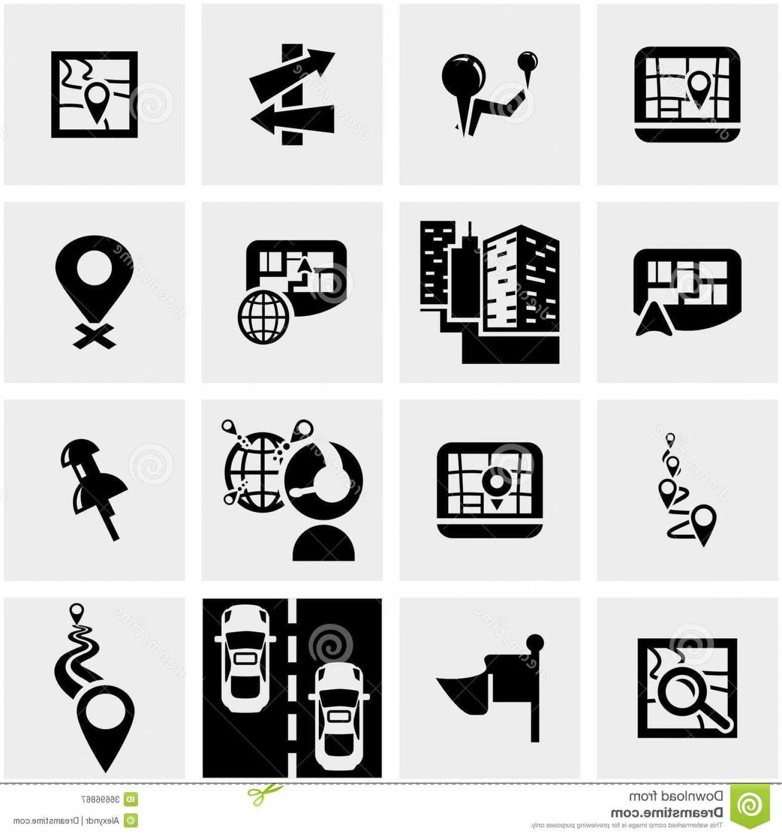 Navigation Vector: Royalty Free Stock Photography Navigation Vector Icon Set Gray Icons Grey Background Eps File Available Image