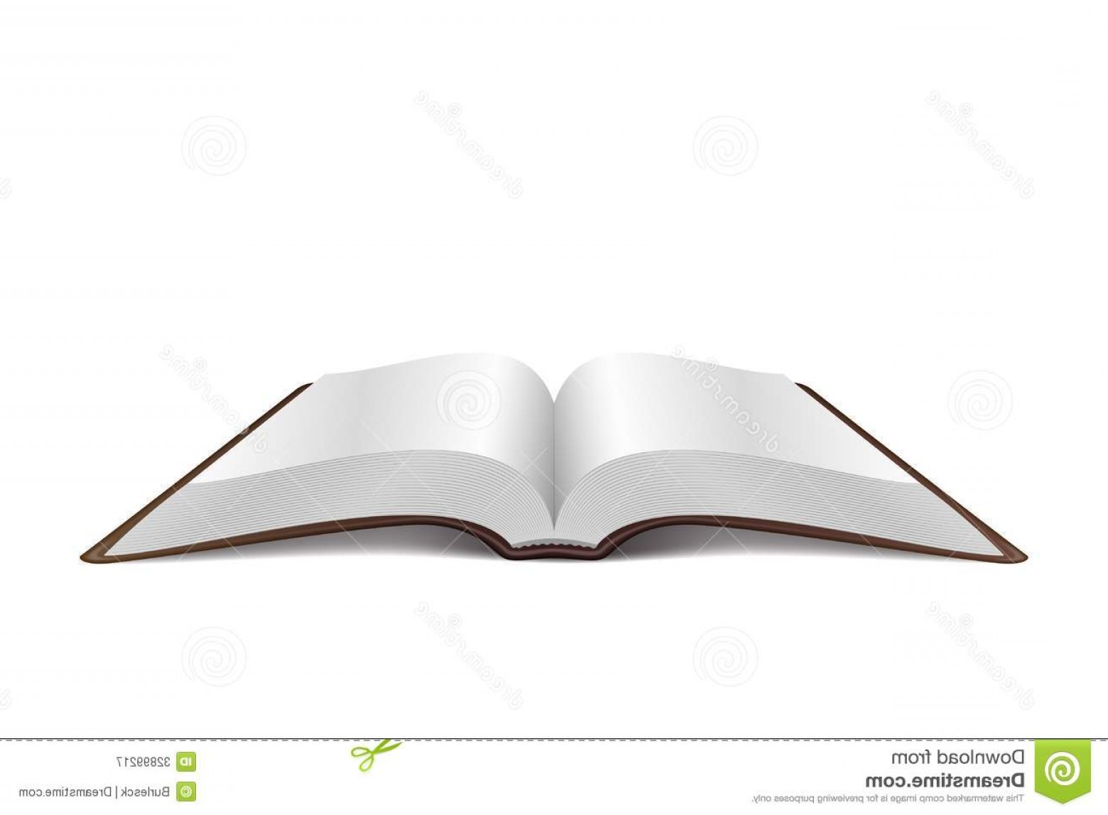 Open Book Vector Flat: Royalty Free Stock Photography Open Book Vector Illustration Isolated White Background Image