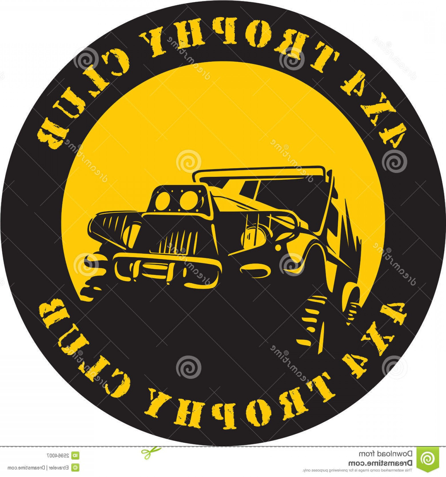 Jeep Off-Road Vector Art: Royalty Free Stock Photography Suv X Trophy Club Sign Image