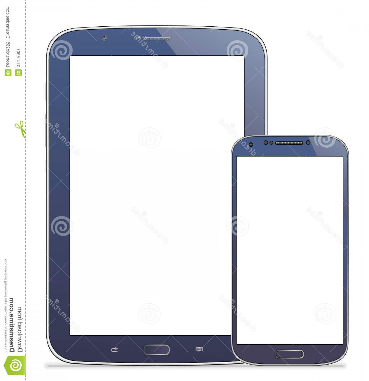 Vector Galaxy S4: Royalty Free Stock Photography Tablet Samsung N Mobile S Galaxy Note Vector Illustration Eps Image