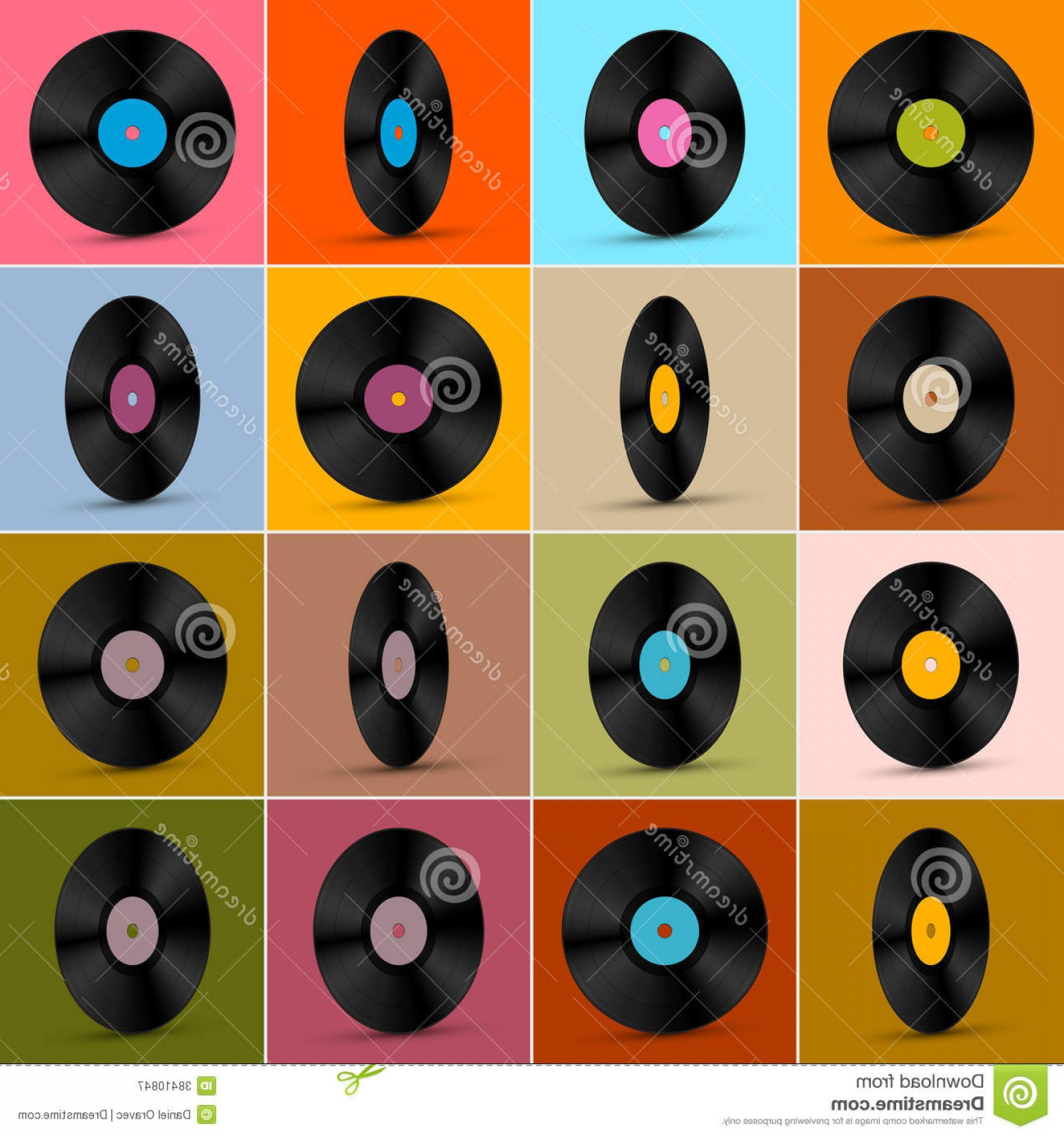 Vinyl Vector Tools: Royalty Free Stock Photography Vector Vinyl Record Disc Background Retro Vintage Image
