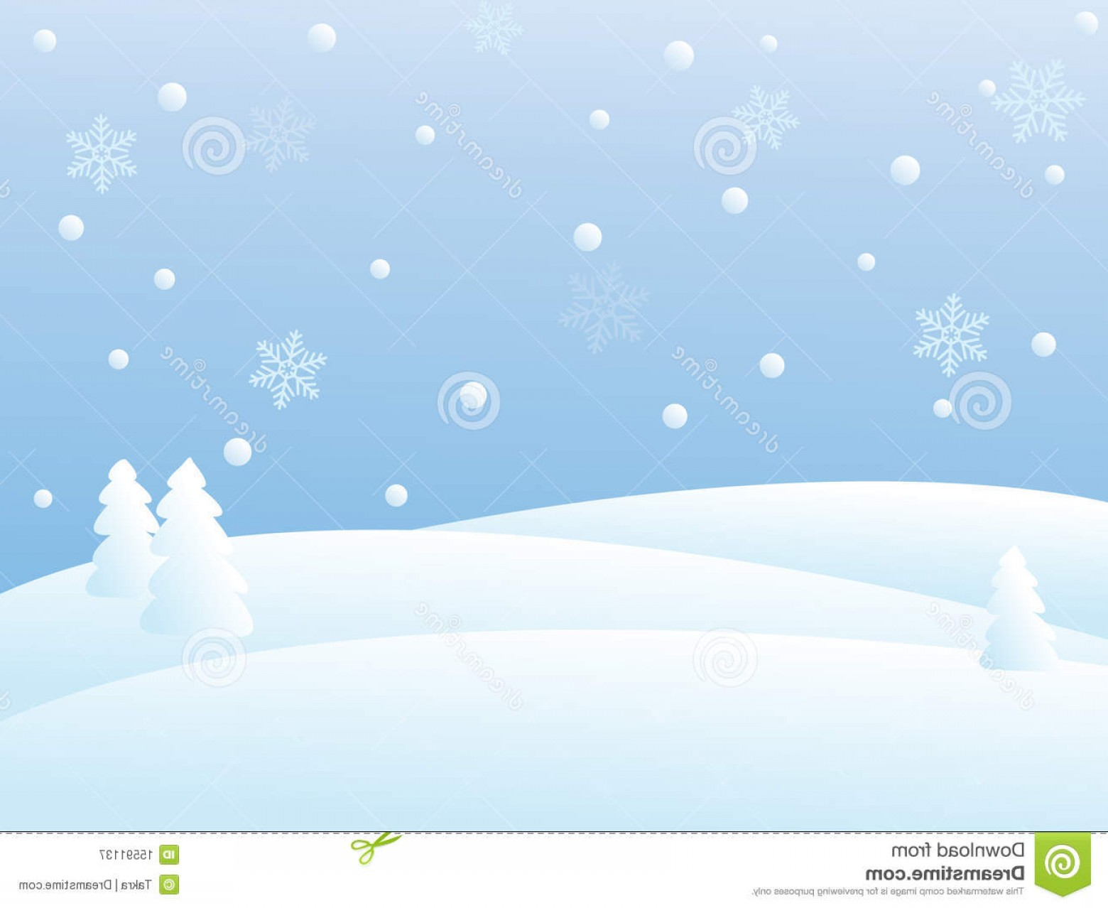 Free Winter Vector: Royalty Free Stock Photography Vector Winter Scene Image