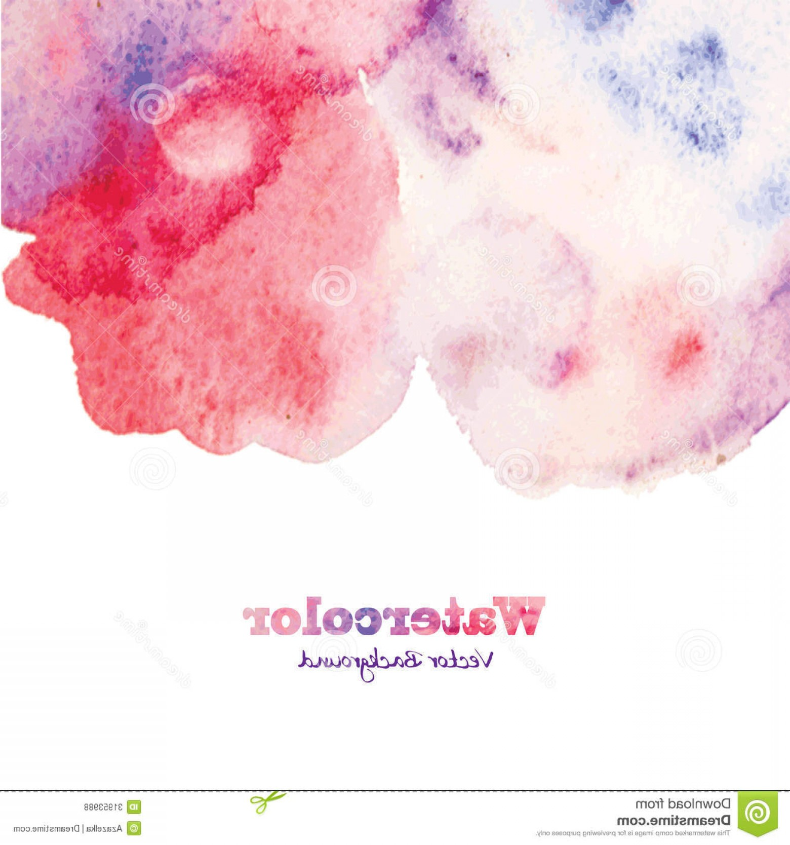 Watercolor Vector Background Free: Royalty Free Stock Photos Abstract Hand Painted Watercolor Background Vector Image