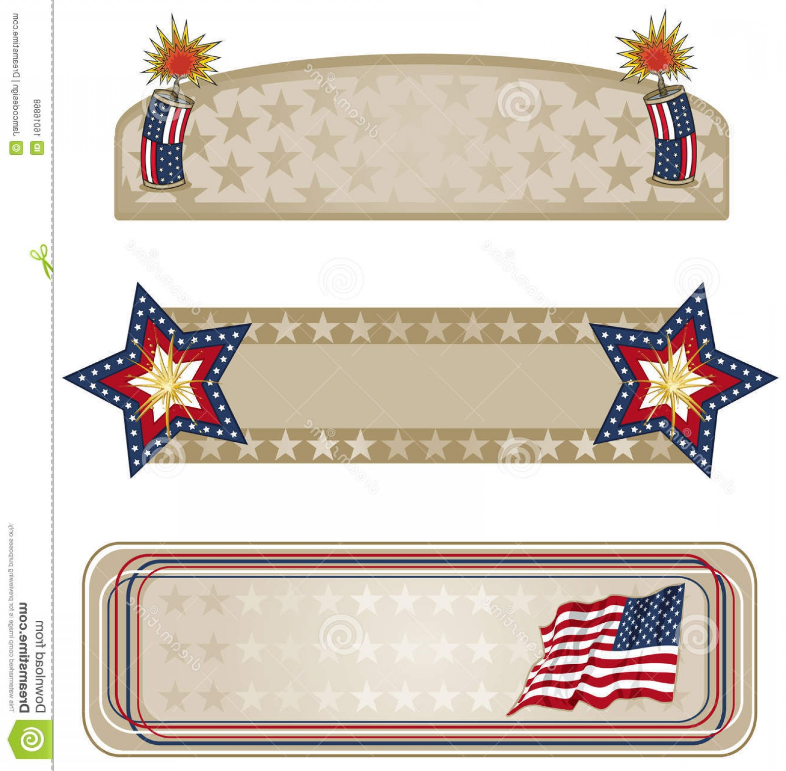 Americana Vector Art: Royalty Free Stock Photos Americana Banners More Image