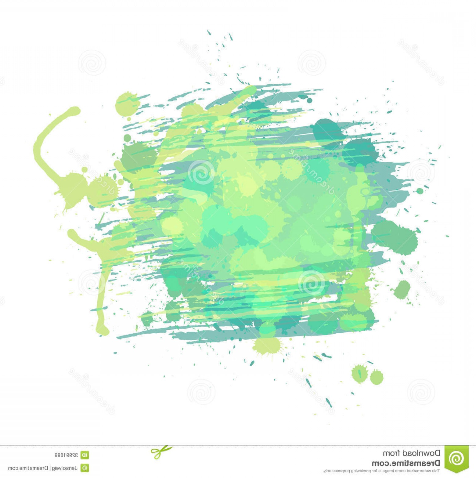 Watercolor Vector Background Free: Royalty Free Stock Photos Artistic Watercolor Vector Background Light Green Blue Colors Image