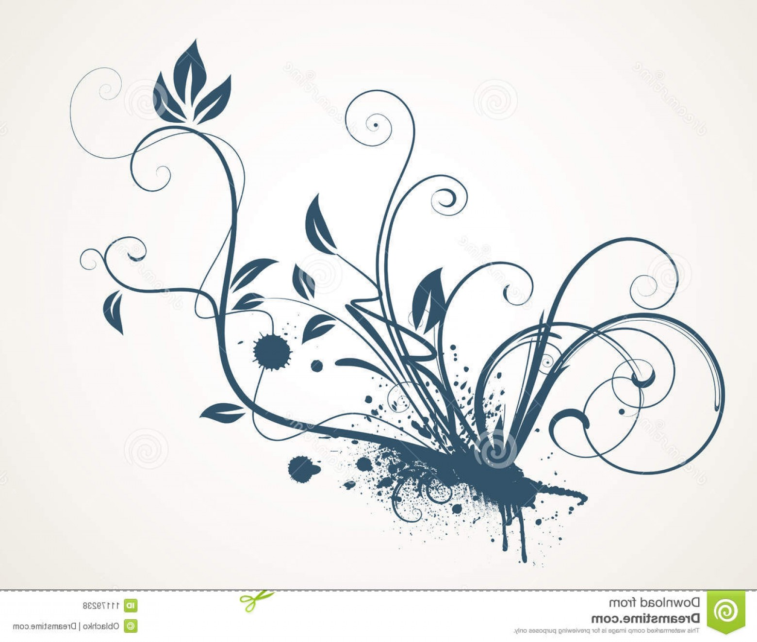 Grunge Scroll Vector Design: Royalty Free Stock Photos Decorative Scroll Design Image