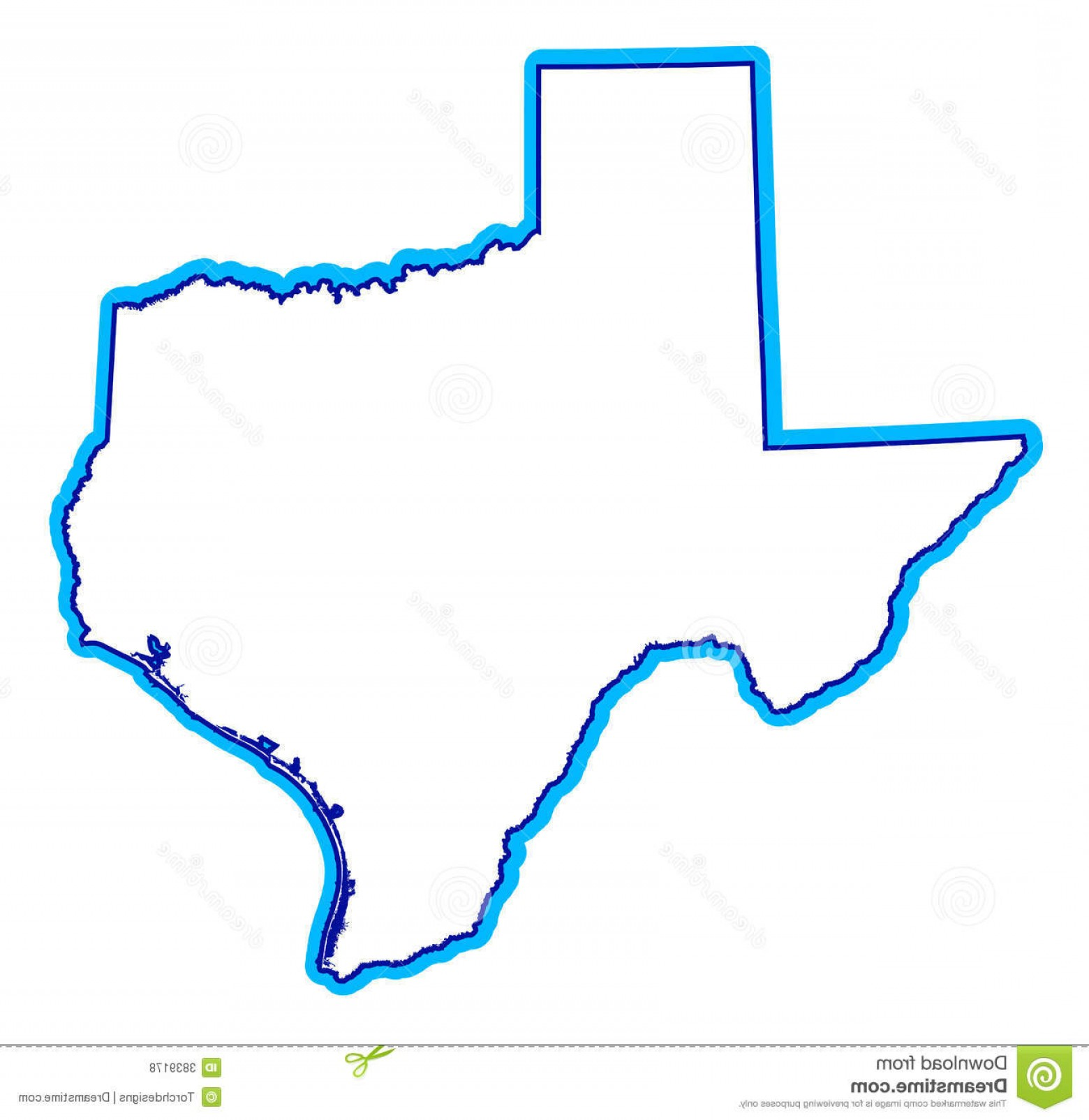 Texas Vector Drawing: Royalty Free Stock Photos Drawing State Texas Image