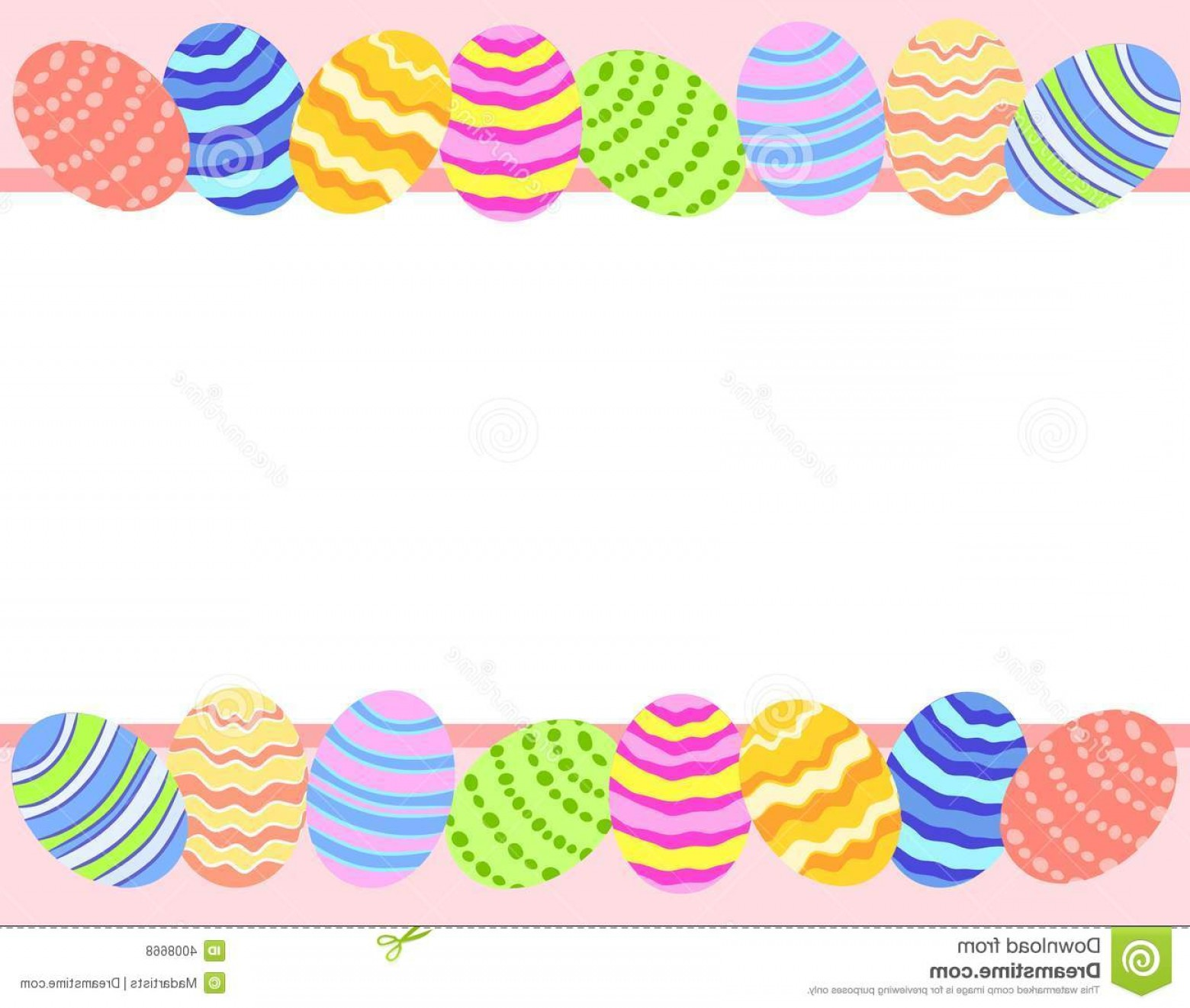 Easter Vector Art No Background: Royalty Free Stock Photos Easter Egg Photo Background Border Image