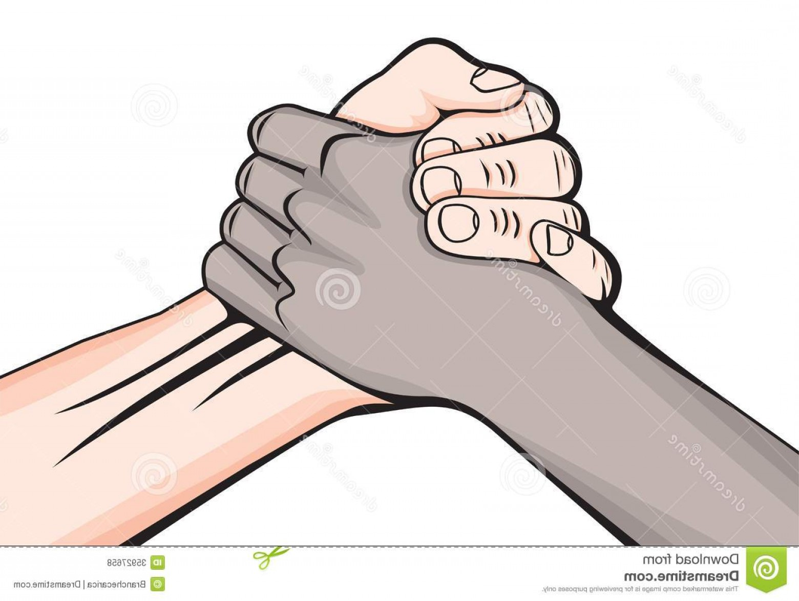 Handshake Clip Art Vector: Royalty Free Stock Photos Handshake Two Male Hands Vector Illustration Image