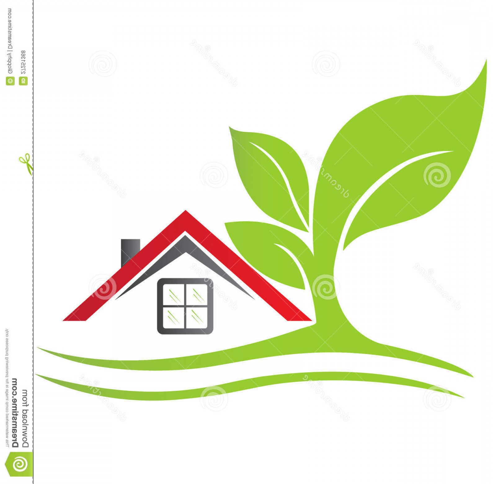 Home Logo Vector: Royalty Free Stock Photos Real Estate House Image