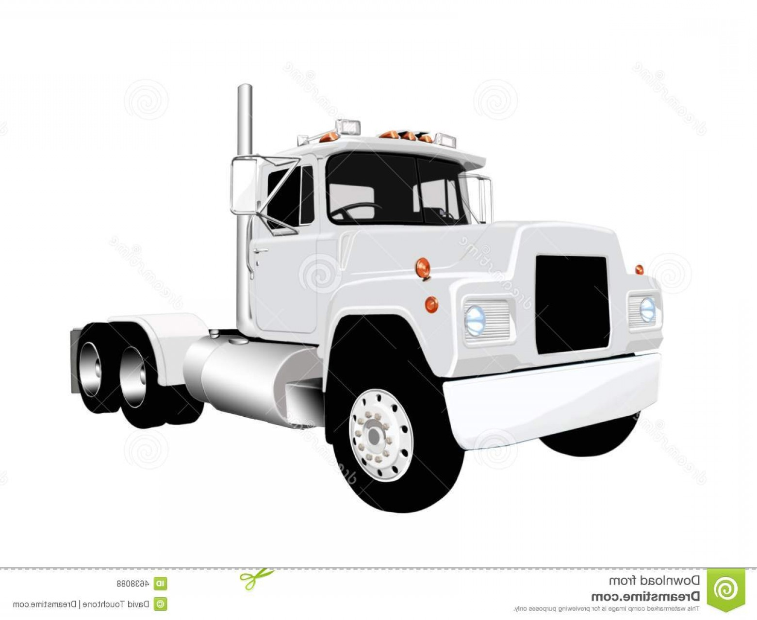 Vector Semi Tanker: Royalty Free Stock Photos Semi Truck Vector Image