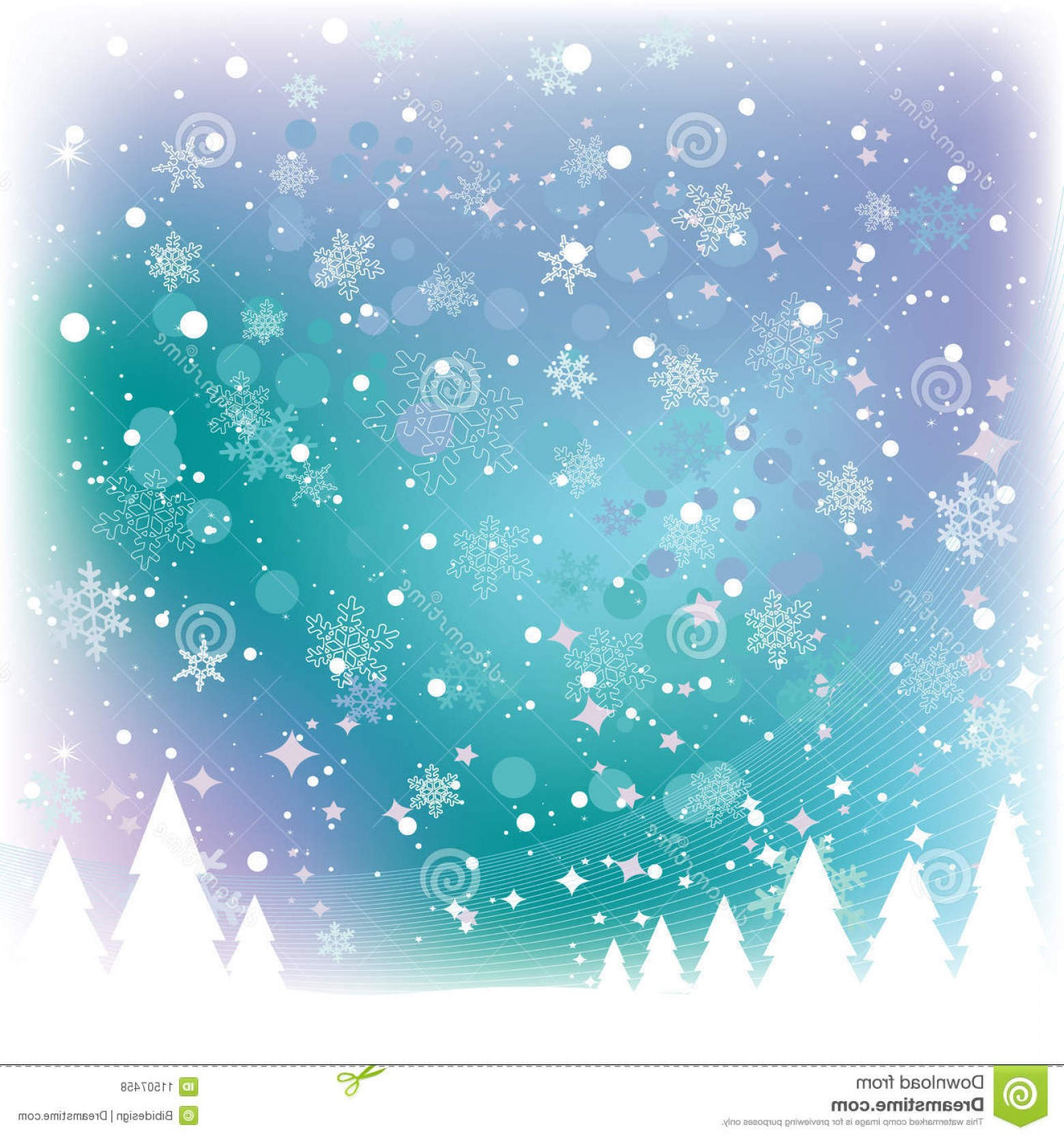Snow Falling Vector Free: Royalty Free Stock Photos Snow Scene Image