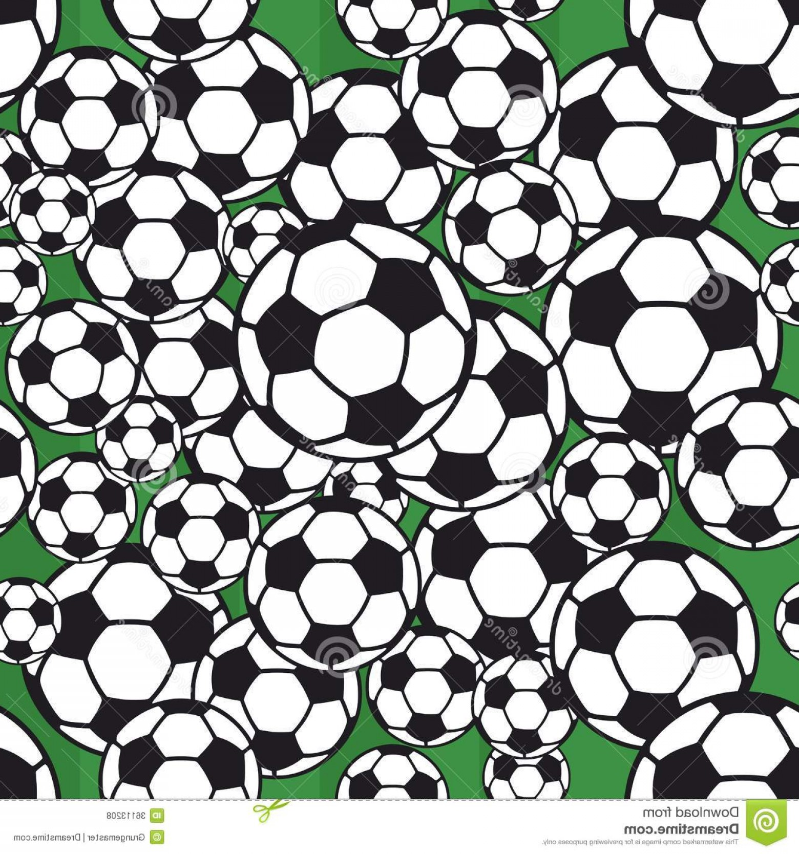 Vector Soccer Ball Pattern: Royalty Free Stock Photos Soccer Ball Pattern Seamless Football Vector Illustration Image
