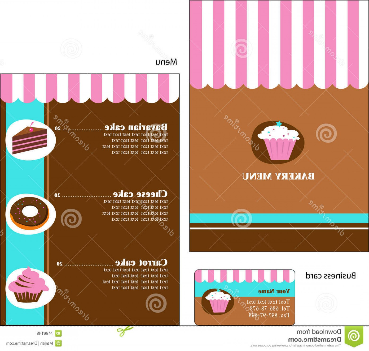 PSD Vector Vintage Cake: Royalty Free Stock Photos Template Designs Bakery Restaurant Menu Image