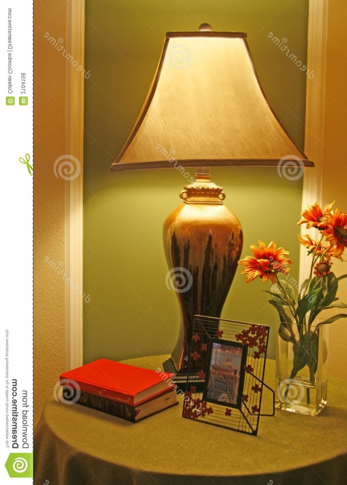 D Night Stanf Vector Graphic: Royalty Free Stock Photos Unusual Lamp Night Stand Image