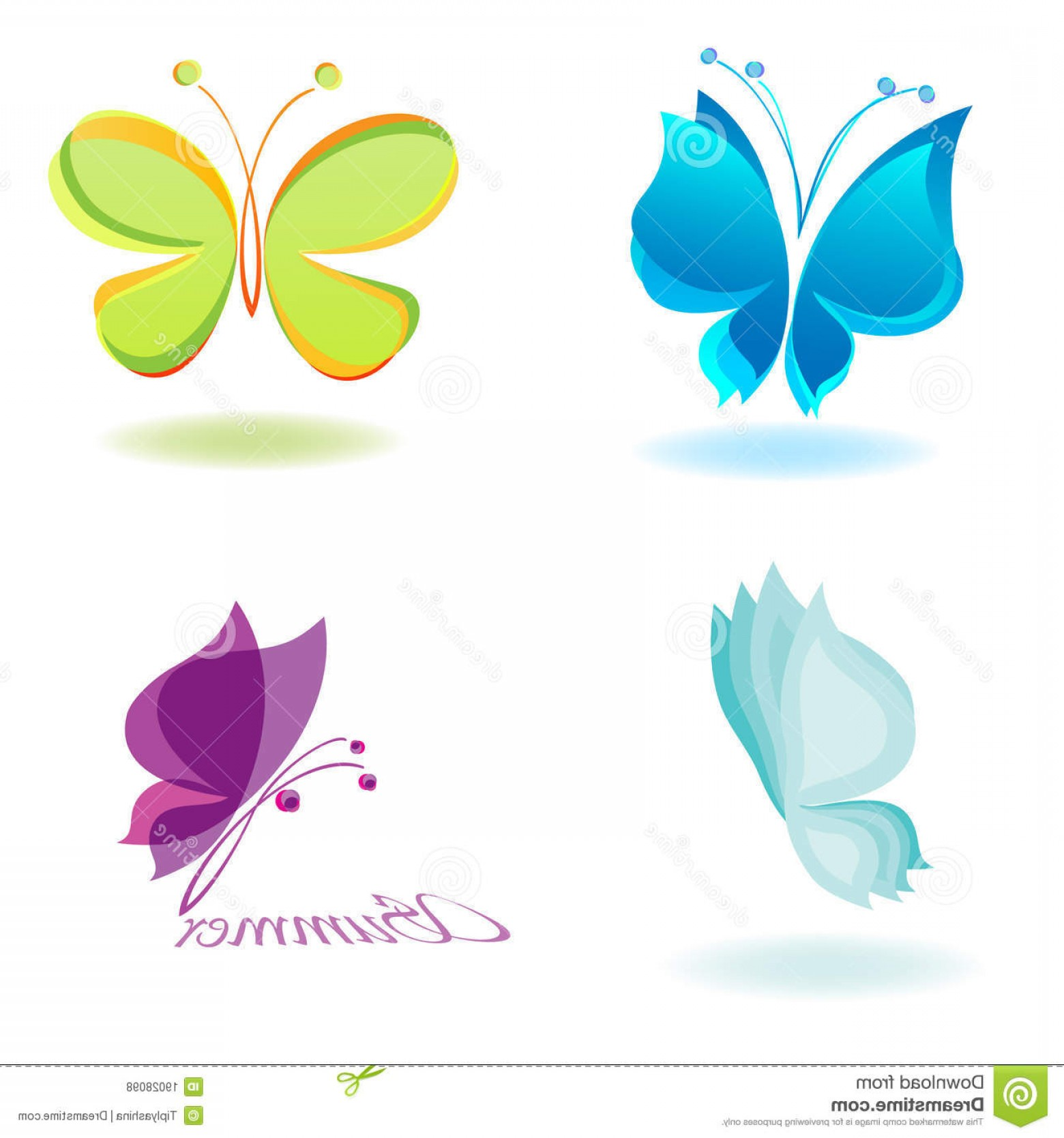 Vector Butterfly Clip Art: Royalty Free Stock Photos Vector Butterfly Image