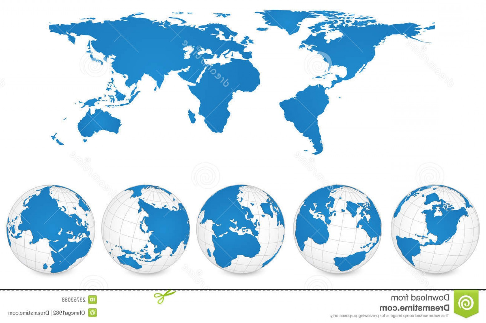 Vector Globe Countries: Royalty Free Stock Photos Vector World Map Globe Detail Vector Illustration Image