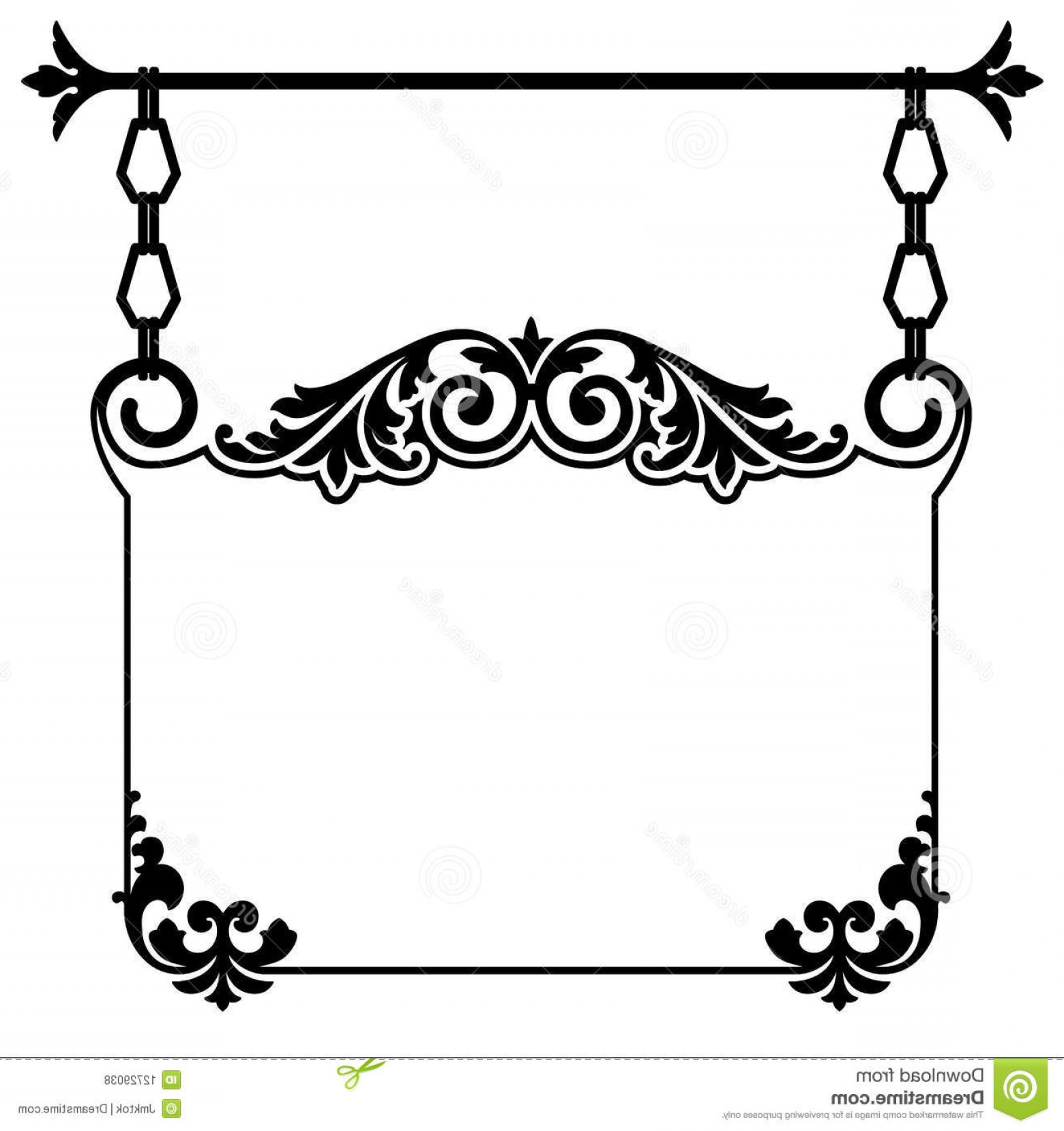 Vintage Sign Vector Clip Art: Royalty Free Stock Photos Vintage Hanging Sign Image