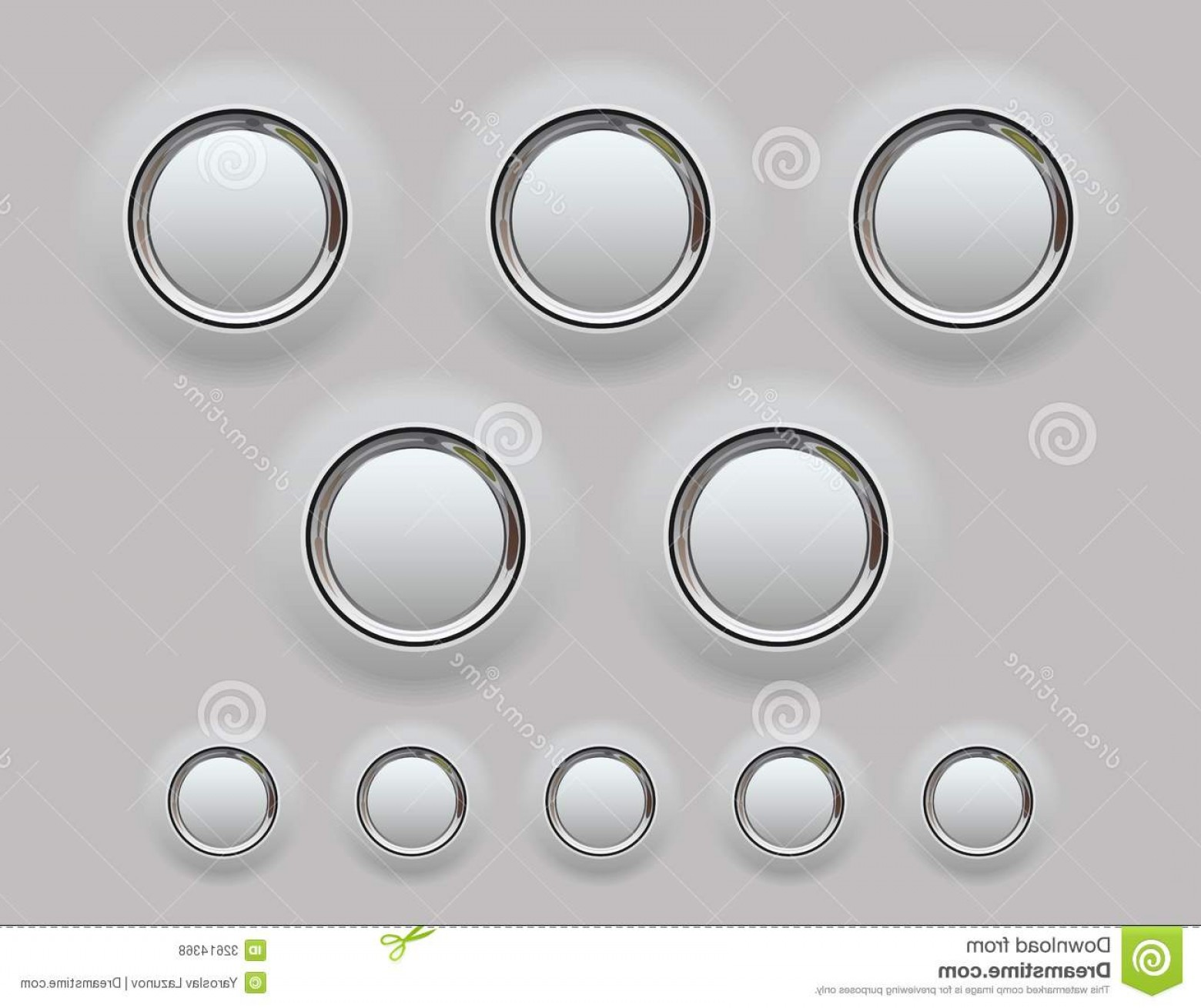 Metal Button Vector: Royalty Free Stock Photos Web Metal Button Vector Illustration Internet Buttons Your Designs Presentation Image