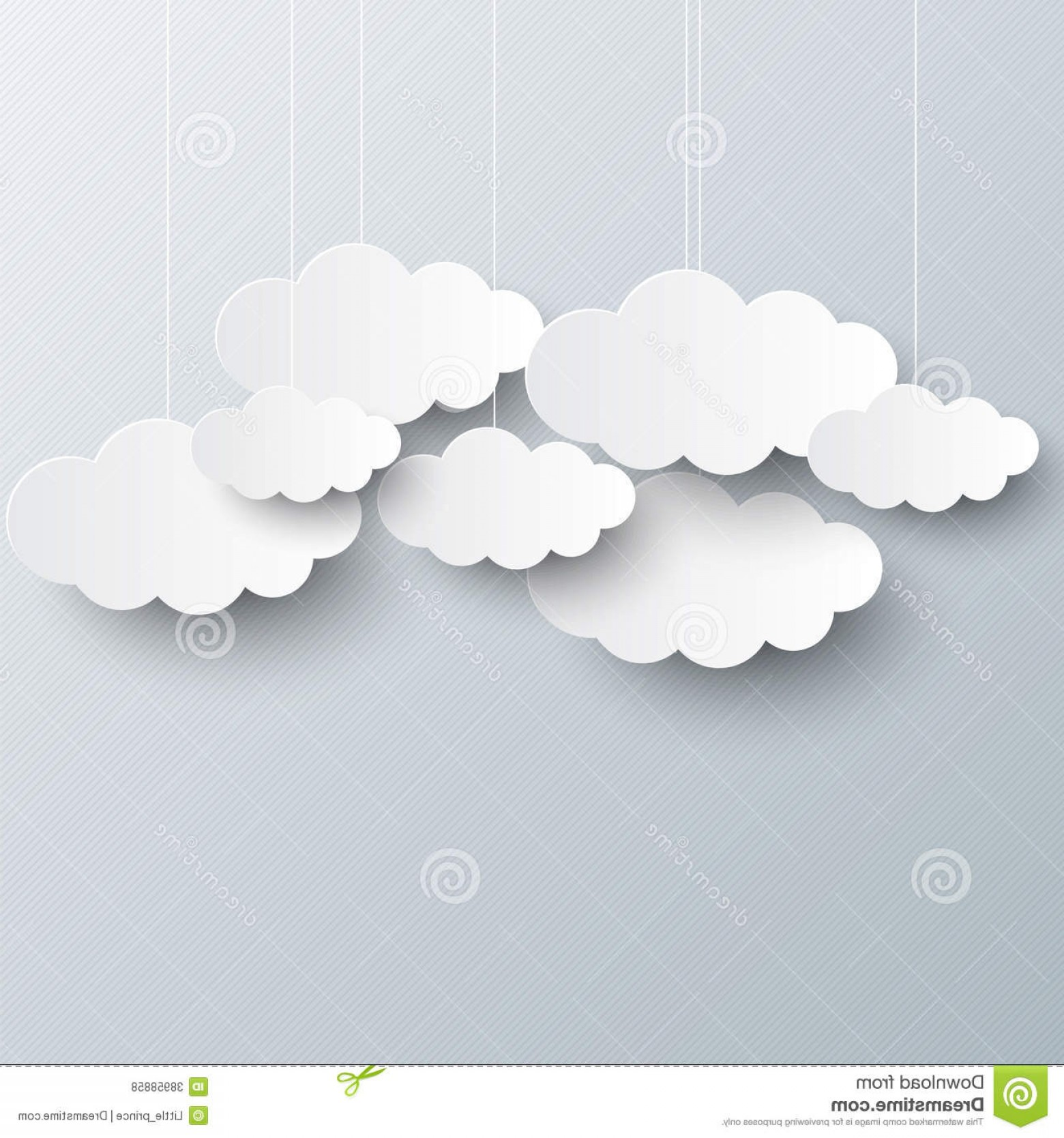 Clouds Backgrounds Vector: Royalty Free Stock Photos White Clouds Gray Sky Background Template Image
