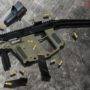 Kriss Vector Accessory Package: Roguexiii Feat Assasin Kriss Vector On Brains