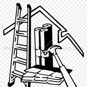 Owens Corning Vector Clip Art: Roofing Equipment Production Ready Artwork For T Shirt Printing Shingles Clipart