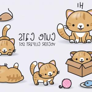 Cats Vector Sample Images: Royalty Free Rf Ginger Cat Clipart Illustration By Pushkin Stock Sample