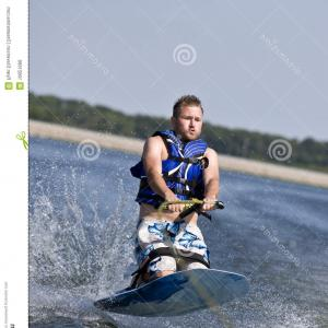 Knee Board Vector: Old Man Pain At His Knee Gm
