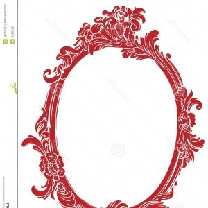 Filigree Oval Frame Vector: Oval Golden Frame Luxury Packing In Art Vector
