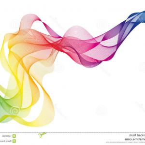 Color Smoke Vector: Abstract Pink Smoke Vector Background