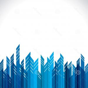 City Building Vector Free Download: Royalty Free Stock Images Abstract Blue City Building Image