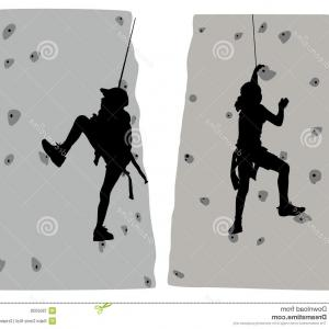 Climbing Silhouette Vector Art: Png Vector Graphics Climbing Clip Art Mountaineering I