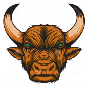 Taurus Vector: Royalty Free Stock Images Zodiac Taurus Bull Representing Sign Just Sharp Vector Graphic General Use Layered Easy To Edit Image