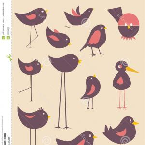 Bird In -Flight Vector Image: Angry Birds Collection No