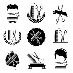 Barber Vector: Royalty Free Stock Photography Barber Shop Set Vector Illustration Hair Comb Image