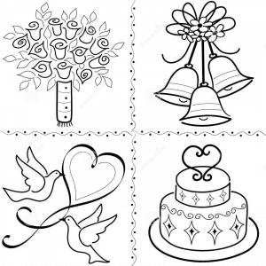 Free EPS Vector Clip Art: Royalty Free Stock Photos Wedding Clip Art Set Eps Image