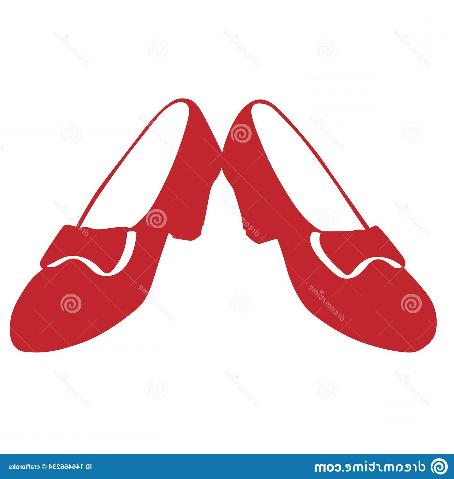 Ruby Red Slippers Vector Art: Ruby Red Slippers Ruby Red Slippers Image