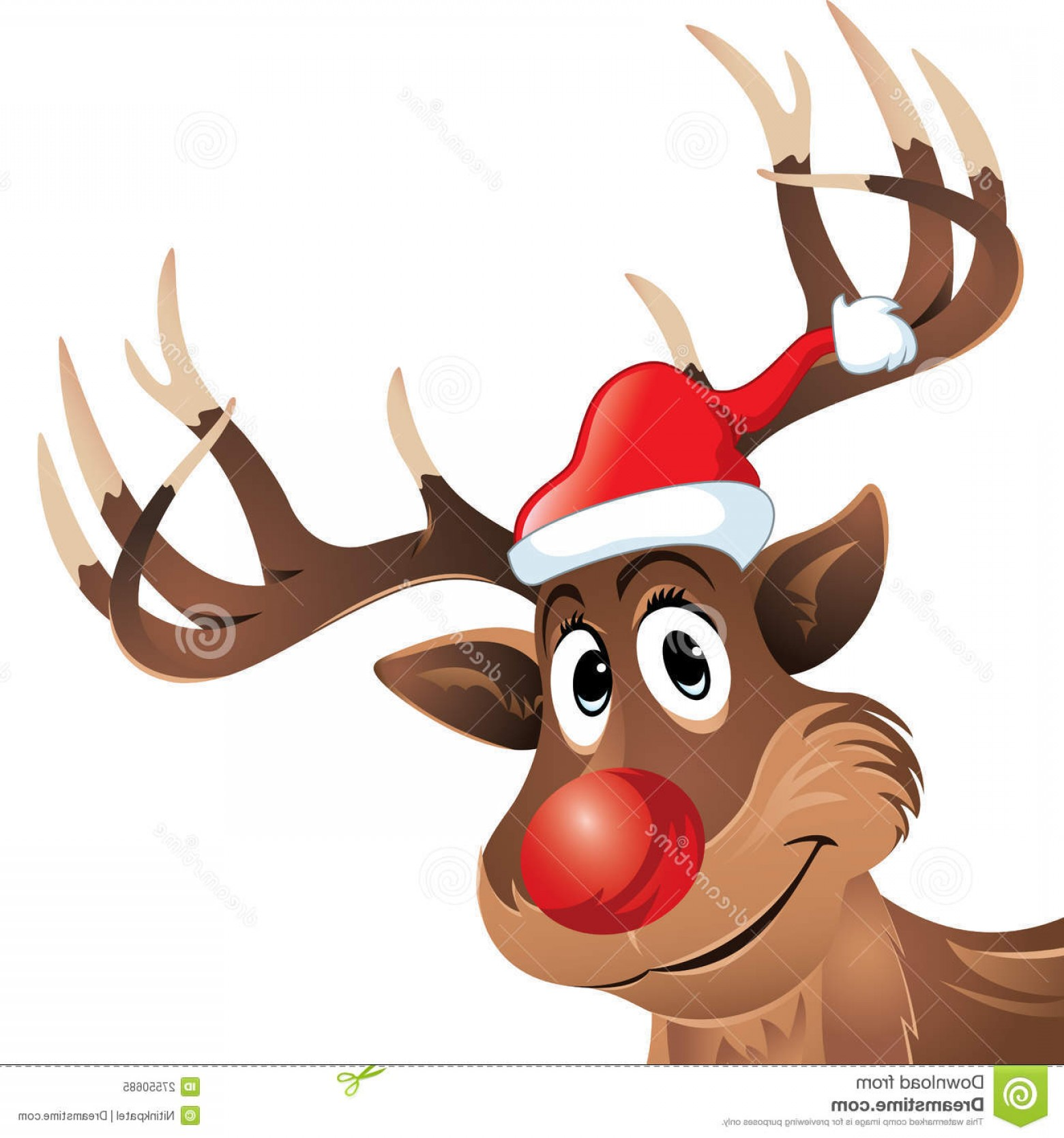 Claymation Rudolph The Red Nosed Reindeer Vector: Rudolf The Rednosed Reindeer Clipart