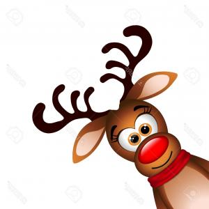 Claymation Rudolph The Red Nosed Reindeer Vector: Christmas Rudolph The Red Nosed Reindeer