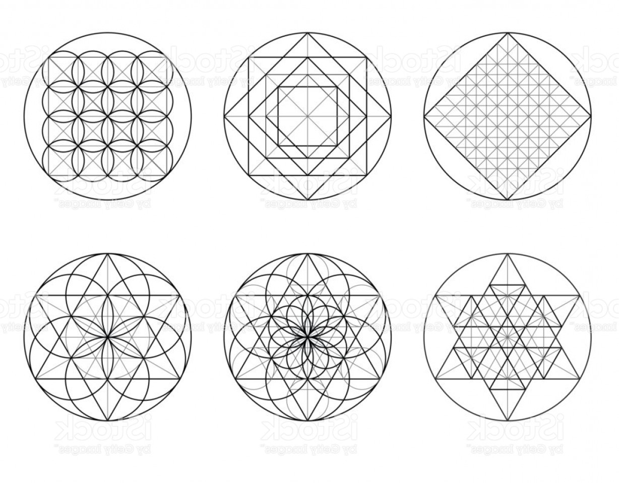 Sacred Heart Vector Genius: Sacred Geometry Golden Section Vector Eps Gm