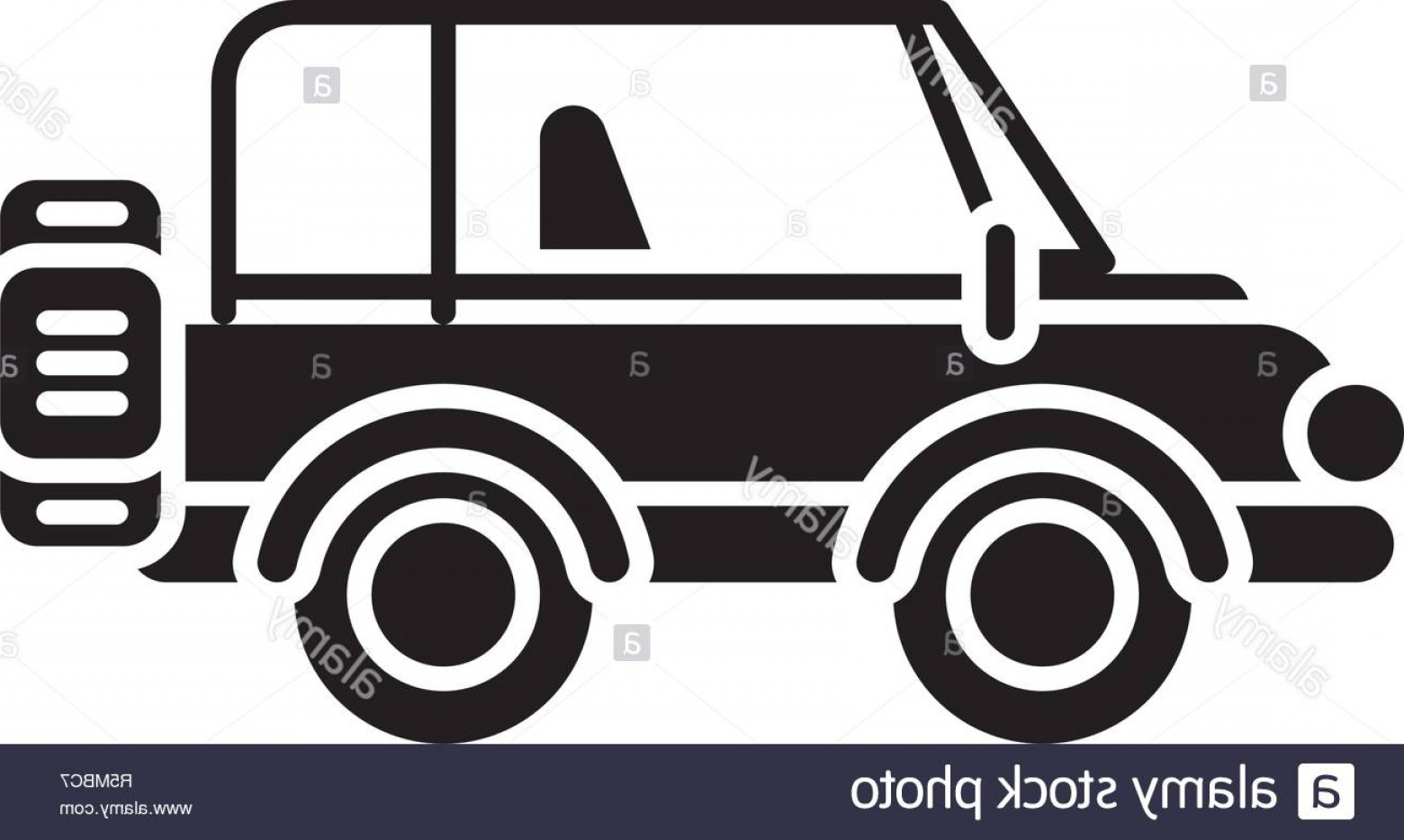 Vector Clip Art Of Jeep: Safari Jeep Black Icon Vector Sign On Isolated Background Safari Jeep Concept Symbol Illustration Image