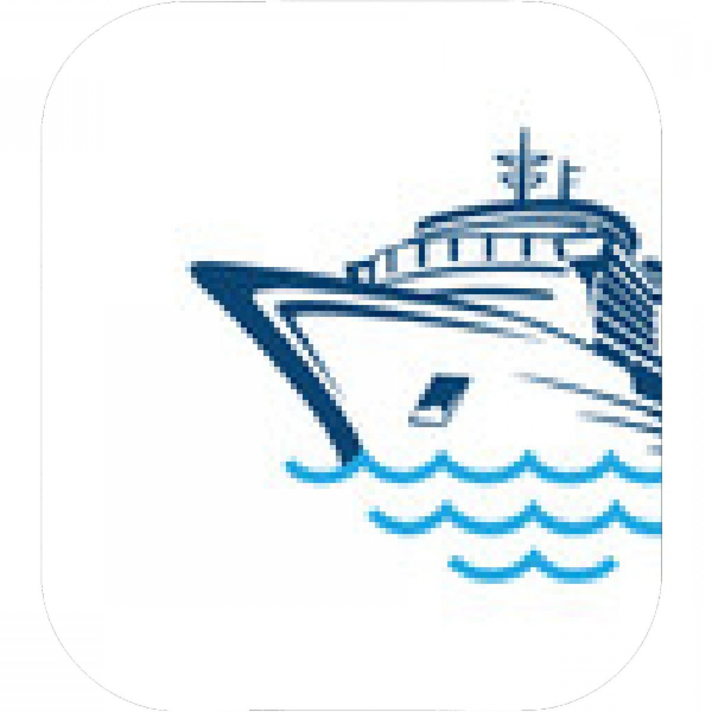 Waves With Cruise Ship Silhouette Vector: Sailing Boat Vector Logo Brand Identity For Boating Business