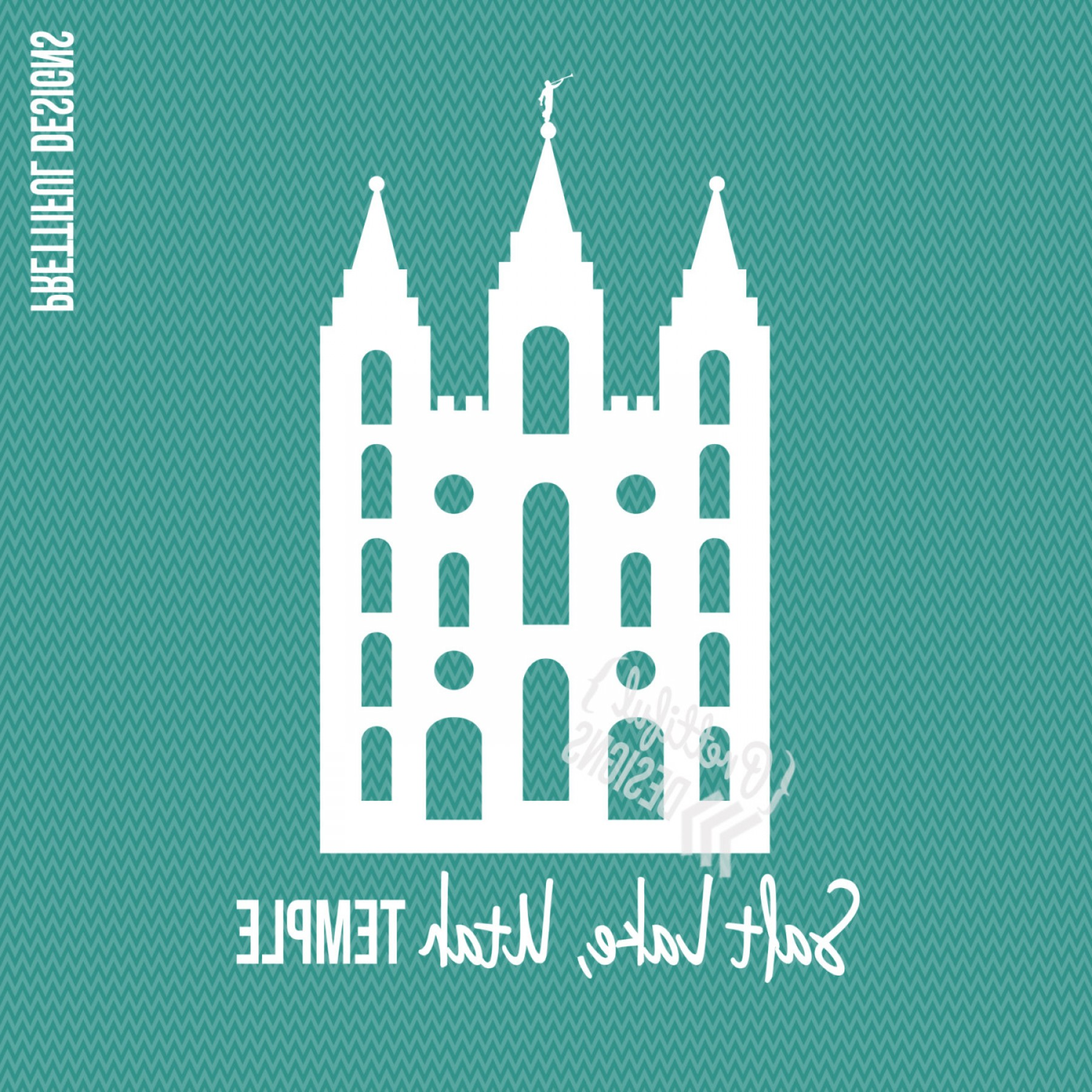 Salt Lake City Temple Vector: Salt Lake Temple Lds Mormon Clip Art Png