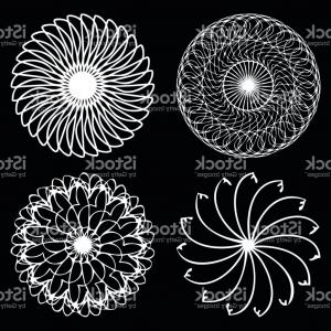 Boho Floral Vector Family Strength: Sacred Geometry Signs Set Set Of Alchemy Religion Philosophy Spirituality Symbols Gm