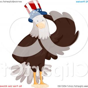 Patriotic Bald Eagle Vector: American Patriotic Eagle Hunting Bald Eagle Vector