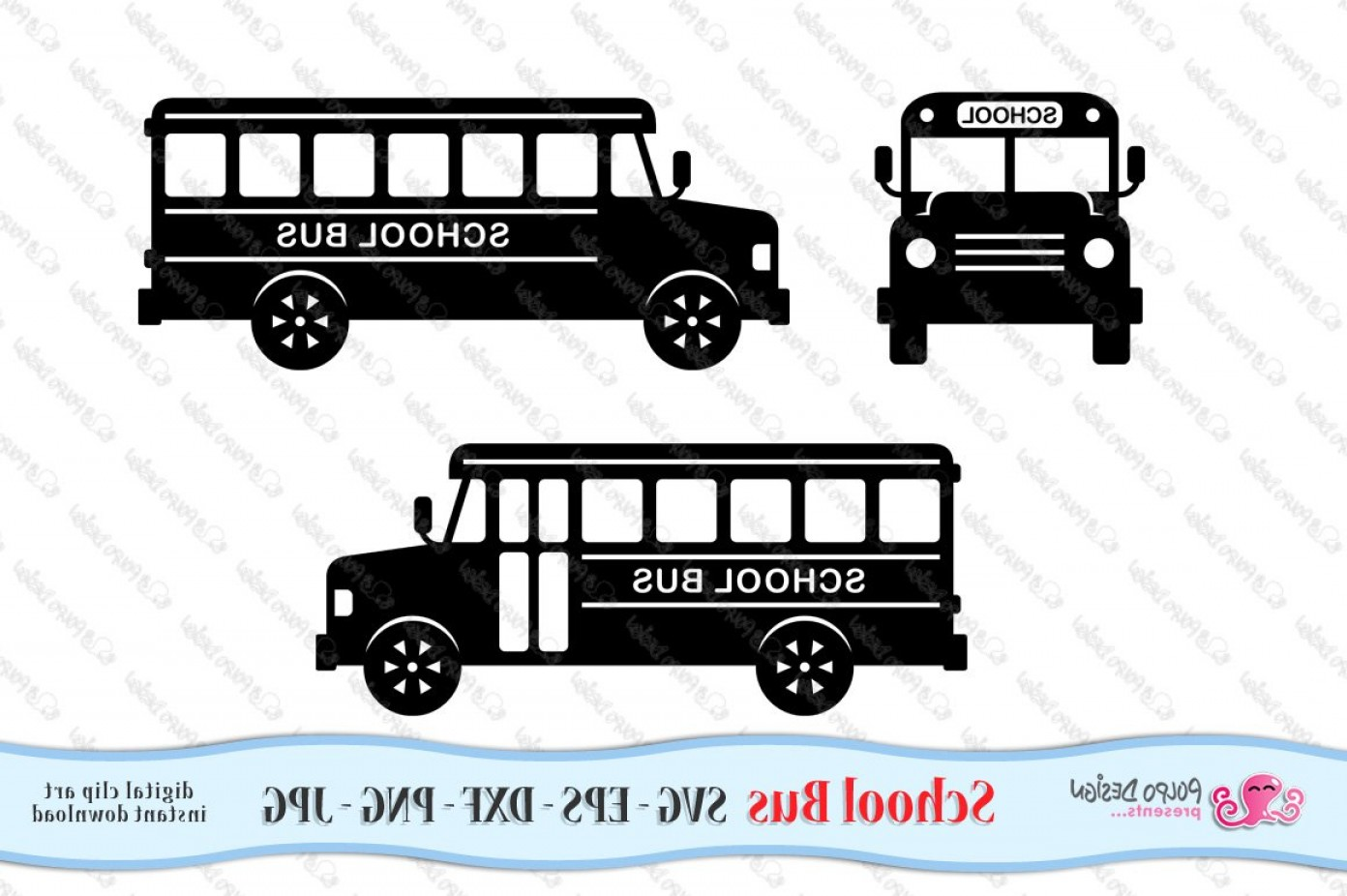 Pic Bus Vector Format: School Bus Svg Eps Dxf Png Jpg