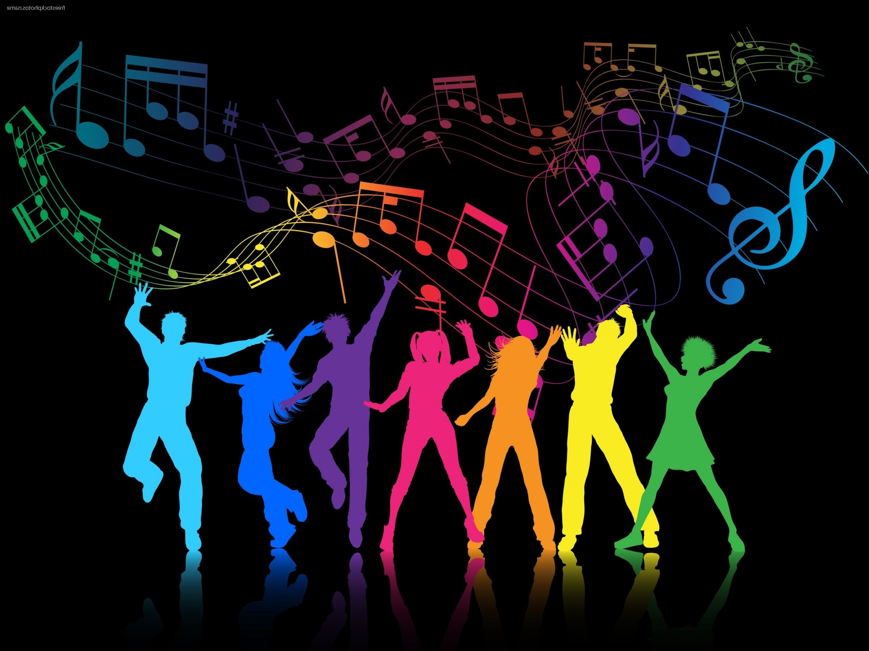 HCS Schools Vector Art: School Dance Friday Pm